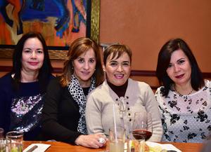 Ma. Elena,Pilar,Lupita y Tere.