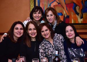 Tere,Beatriz,Maylen,Ma. Elena,Genoveva y Pilar