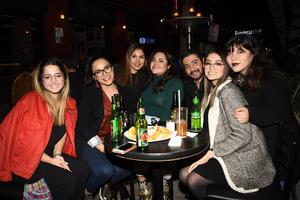 11012019 Vivi, Karla, Estefanía, Any, Rogelio, Romana y Bety.