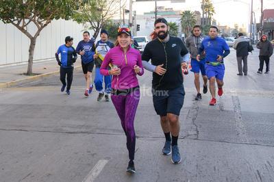 Corren el tercer entrenamiento previo al MIL