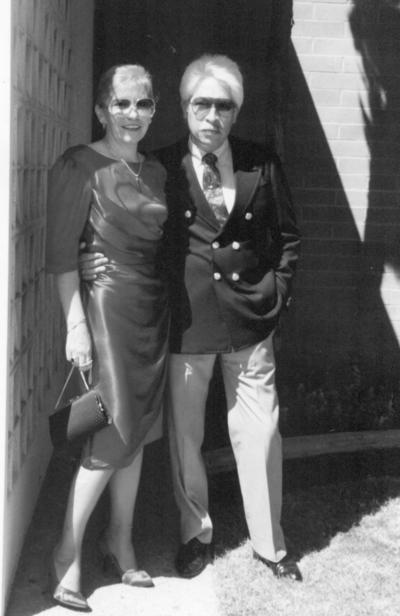 Lita y Daniel en San Francisco, California, en 1983.
