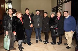 15012019 Cuauhtémoc, Hilda, Elena, Gustavo, Mary, Martha, Ofelia y José.