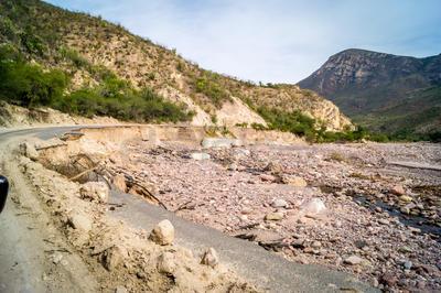 El daño se registró entre los pasados 22 y 23 de octubre.