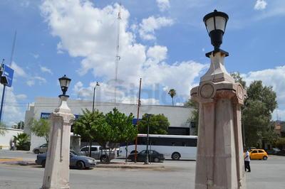 Las columnas de la Alameda Zaragoza.