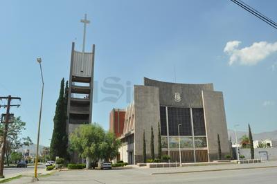 Parroquia del Inmaculado Corazón de María en la colonia Torreón Jardín.