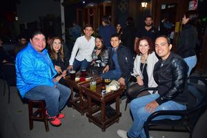 18012019 GRATA VELADA.  Tino, Mirna, Jaime, Beatriz, Eduardo, Katy y Carlos.