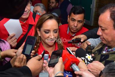Ruiz Massieu señaló que el PRI Torreón cuenta con el respaldo del PRI nacional.