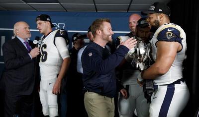 Rams vence a Saints y estará en el Super Bowl