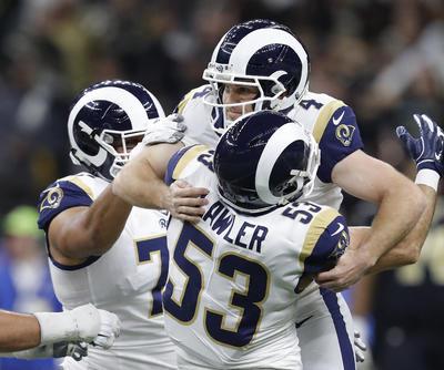 Los Rams de Los Ángeles consiguieron el pase al Super Bowl LIII después de vencer a los Saints de Nueva Orleans a domicilio en la prórroga por 23-26 y convertirse en campeones de la Conferencia Nacional (NFC) de la Liga Nacional de Fútbol Americano (NFL).