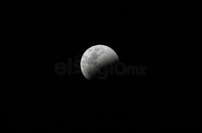 Eclipse y Superluna en Durango