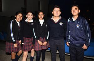 21012019 Regina, Maite, Helen, Jesús y Enrique.
