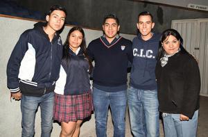 21012019 Gael, Cristina, Jaime, Daniel y Ana Rosa.
