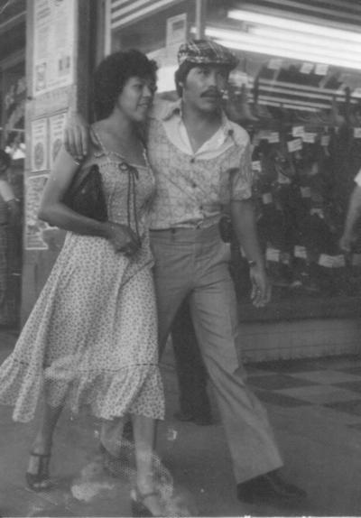 Ana Beatriz Rocha Pérez y José Ortiz Ramírez en Durango, Durango, en 1979.