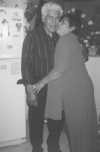 Ricardo Pérez y Hortensia Ramírez celebraron 40 años de casados.