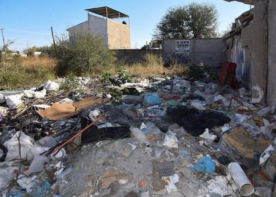 Van al trabajo o a llevar a sus hijos a la escuela, en medio de montones de basura de todo tipo, olor a perros muertos, lagartijas, llantas y escombro.