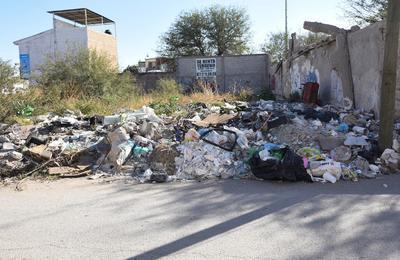Vecinos tienen que convivir a diario con la suciedad.