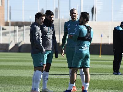 Guerreros continúan entrenando para obtener puntos en Liga MX