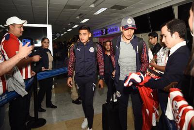 Chivas llega a Torreón para enfrentar a Santos Laguna