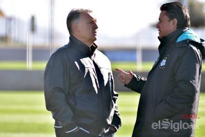 Martino tendría en la mira a algunos jugadores albiverdes para sus convocatorias.