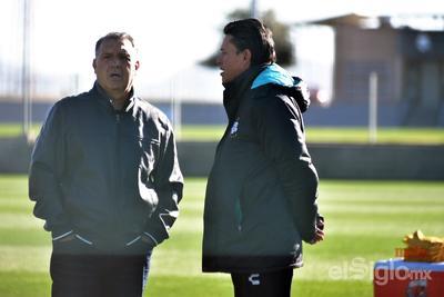 Salvador Reyes pudo conversar con el nuevo timonel del Tricolor.