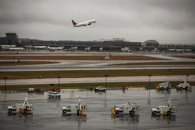 Algunos vuelos han tenido que ser cancelados.