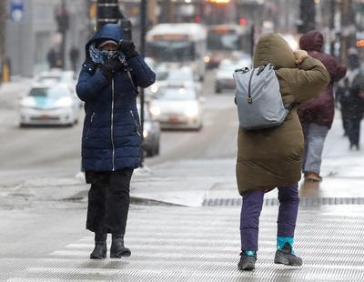 Hay ciudades que sufren una sensación térmica de 50 grados bajo cero.