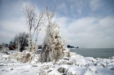 El frío congela gran parte de Estados Unidos.