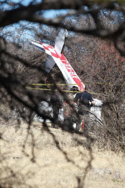 Un habitante de un poblado ubicado en las inmediaciones del Aeropuerto, informó de un accidente de una avioneta Cesna