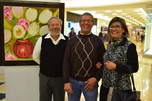 29012019 MUY CONTENTOS.  Rodolfo, Adrián y Leticia.