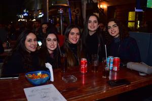 30012019 Michelle, Maritere, Sofía, Marian y Sara.