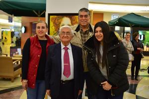 30012019 EMULANDO A LOS GRANDES.  Florencia, Lupita, Chuy y Hermano Rubén Sámano.