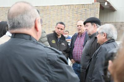 Autoridades de la Secretaría de Seguridad Pública en Coahuila, así como municipales, coordinaron las labores para recibir a los más de mil 700 migrantes.