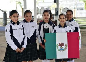 26022019 Dana, Zaira, Abril, Chantal y Melanie.