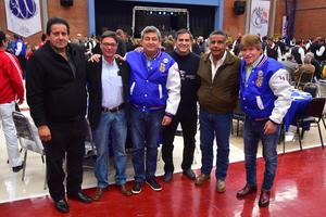 27022019 Fernando, Enrique, Víctor, Hugo,s Ricardo y Gustavo.