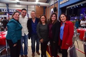 27022019 Elsa, Alfonso, Raúl, Valeria, Erika y Adriana.
