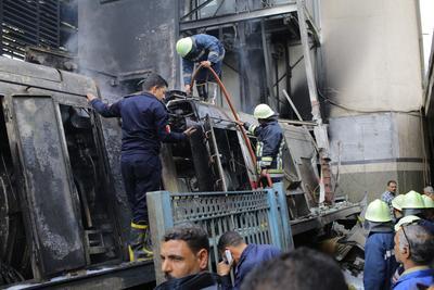"""Salah aseguró que los bomberos y las ambulancias """"estaban cerca de la estación y llegaron muy deprisa"""" al lugar, evacuando rápidamente a todos los heridos, con la ayuda de pasajeros que se encontraban en la estación."""
