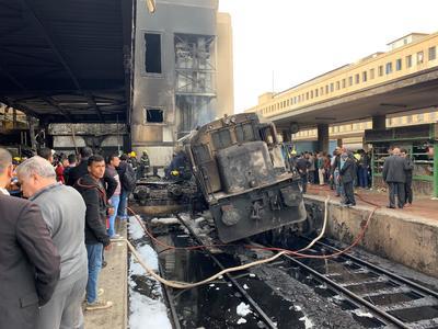 En un comunicado señaló que el conductor del tren, al que no ha identificado, ha sido detenido y está siendo interrogado.