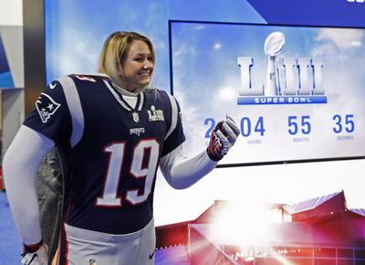 Así viven aficionados en EU la fiesta del Super Bowl LIII