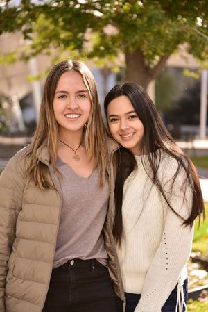 Brenda y Victoria