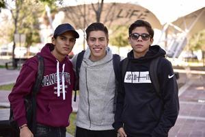 Fernando, Ruben y Oscar