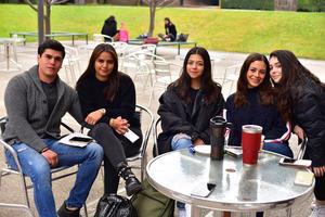 Eliud, Lety, Regina, Janet y Sofia