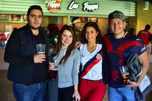 Alejandro, Marisol, Alejandra y Gerardo