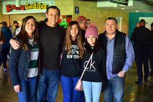 Dulce, Gustavo, Sofia, Renata y Rodolfo