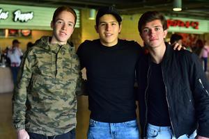 Roberto, Bernardo y Juan Pablo