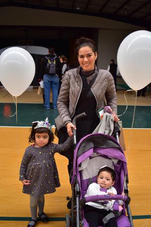 Vanessa, Ana Paula y Maria Fernanda