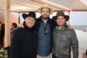 Fernando Perez Cano, Fernando Veyan y Michael Clegg