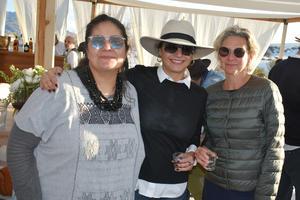 Olga, Pamela y Magaly