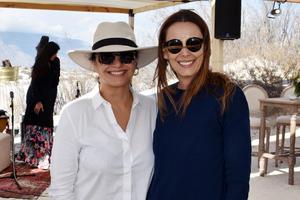 Pamela Echeverria y Maru Izaguirre