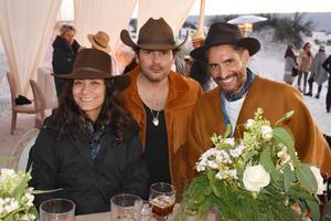 Pamela Ocampo, Gerardo Sarur y Jose Luis Castaneda