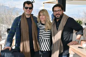 Rodrigo Penafiel, Iliana Sod y Rodrigo Lastra